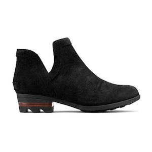 Sorel Lolla Cut-Out Bootie - Black