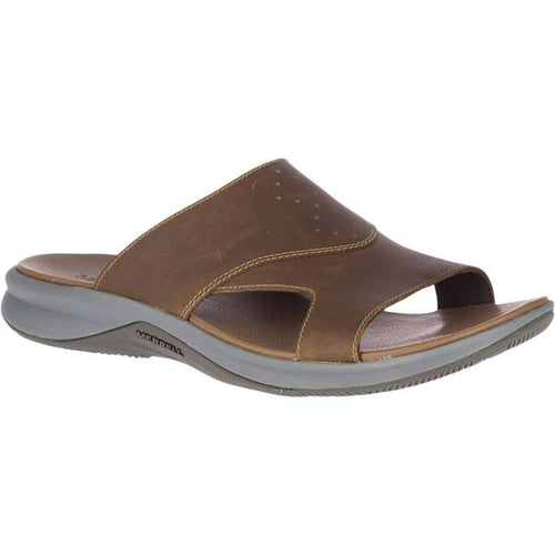 Merrell Tideriser Luna Slide Leather Sandal - Butternut