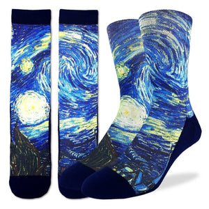 Good Luck Socks Men's Starry Night