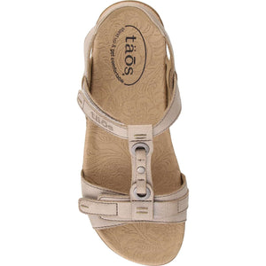 Taos Swifty Sandal - Grey top