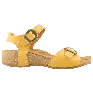 Taos Vera Sandal - Golden Yellow side