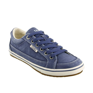 Taos Moc Star Sneaker - Indigo Distressed