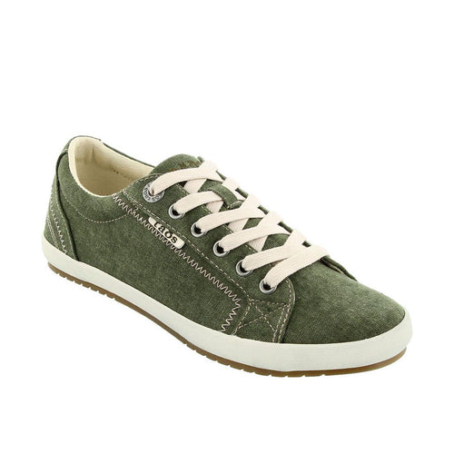 Taos Star Sneaker - Olive Wash