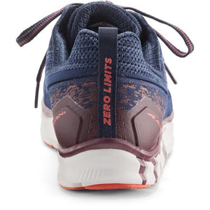 Altra Torin 4 Plush Running Shoe - Navy / Plum back