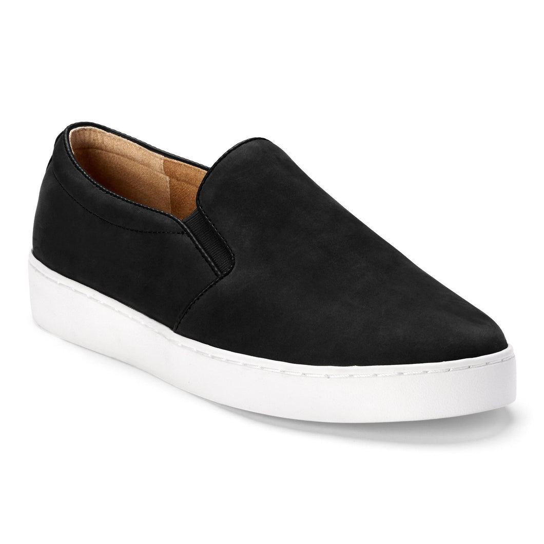 Vionic Midi Slip-On Sneaker - Black