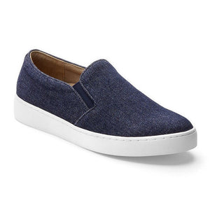 Vionic Midi Slip-On Sneaker - Denim