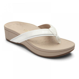 Vionic High Tide Flip Flop - White