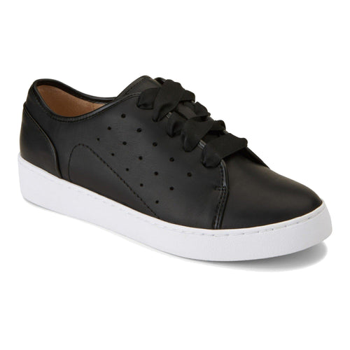 Vionic Keke Sneaker - Black Leather
