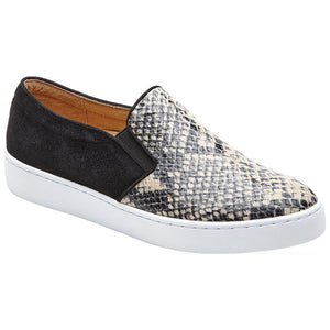 Vionic Midi Slip-On Sneaker - Natural Snake