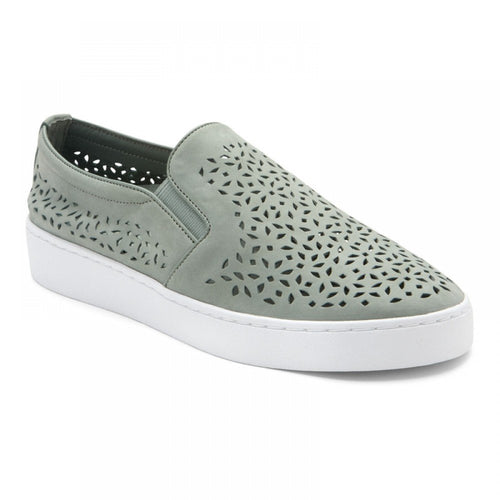 Vionic Midi Perf Slip-On Sneaker - Mint