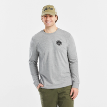 Life is Good Long Sleeve Crusher Tee - Wander Sky
