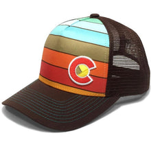 YO Colorado Wanderlust Fade Trucker Hat