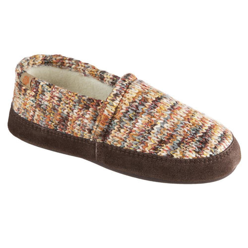 Acorn Moc Slipper - Sunset Cable Knit