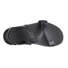 Xero Shoes Z-Trail Sandal - Black / Multi-Black Top