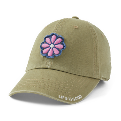 Life is Good Daisy Tattered Chill Cap