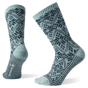Smartwool Traditional Snowflake Sock - Frosty Green