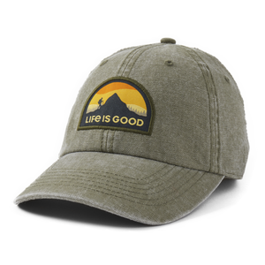 Life is Good Climber Patch Sunworn Chill Cap
