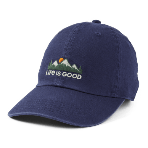 Life is Good Mountain Chill Cap Darkest Blue