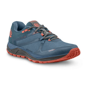 Topo Athletic MT-3 Trail Shoe - Blue / Coral