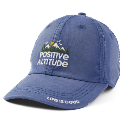 Life is Good Positive Altitude Sunwashed Chill Cap