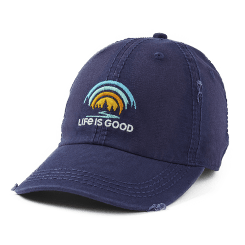 Life is Good Forest Rainbow Sunwash Chill Cap