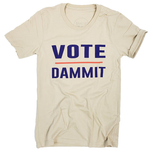 Philomena + Ruth Vote Dammit T-Shirt