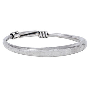 Plain Squared Muntz Metal Bangle