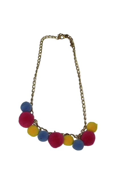 Pom necklace
