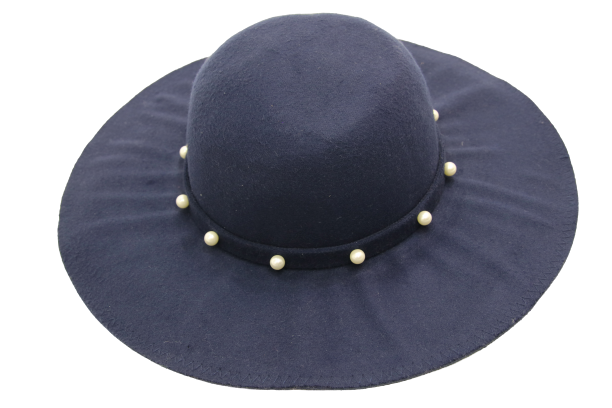 Pearl Band Floppy hat