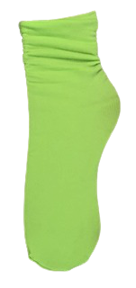 Neon Lime Lightweight Neon Socks