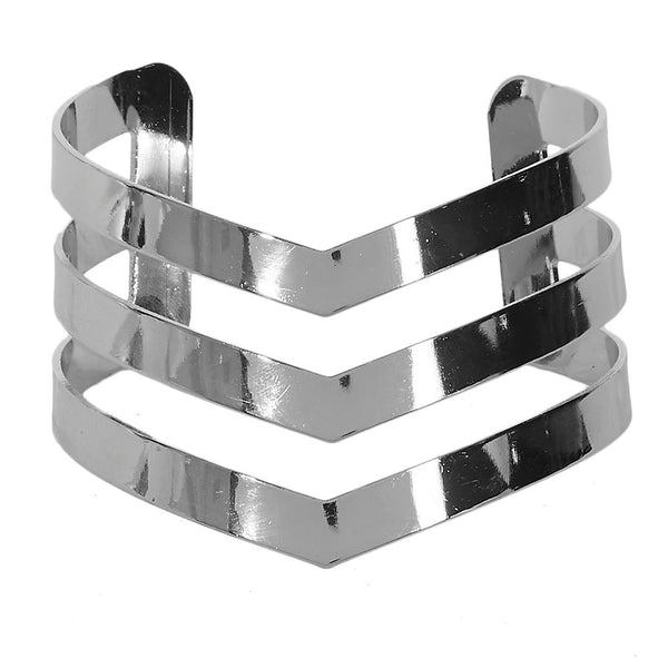 3 Line Cut Out Arm Cuff