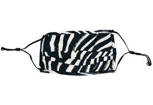 Zebra Fashion Face Mask