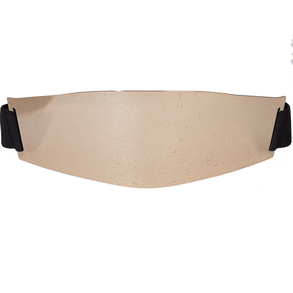 Gold Plate Mirror Elastic Belt