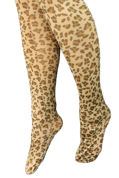 Leopard tights - Small Size