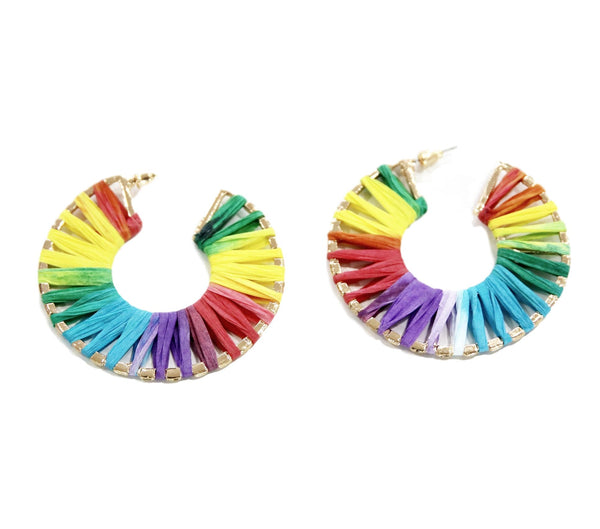 Multi Colour Hoops