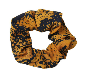 Orange Snake Scrunchie