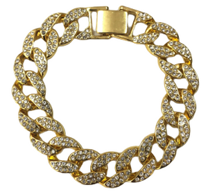 Diamante Link Chain Bracelet