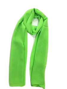 Green Light Weight Scarf
