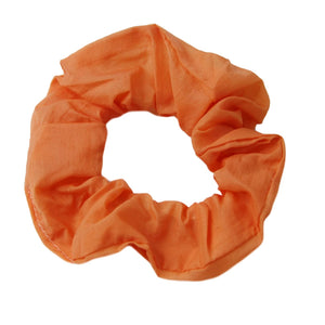 Orange Lightweight Hair Scrunchie
