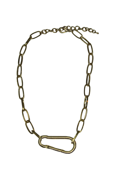 Carabiner Chain Necklace