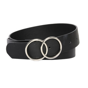 Suedette Double Circle Belt