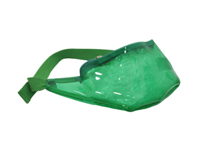 Green PVC Bum Bag
