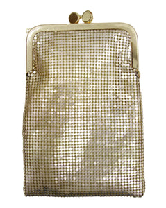 Gold Chainmail Pouch Bag