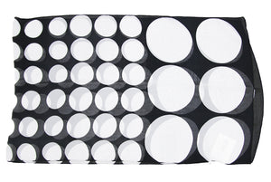 Black And White Polka Scarf