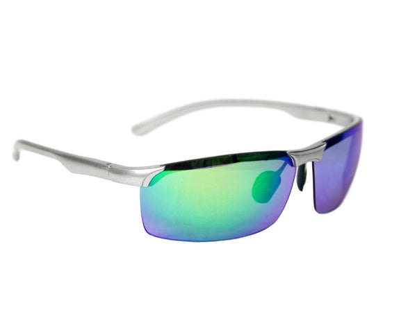 Light Blue Plastic frame sunglasses
