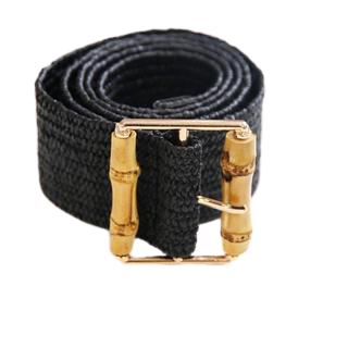 Bamboo Buckle Stretch Belt