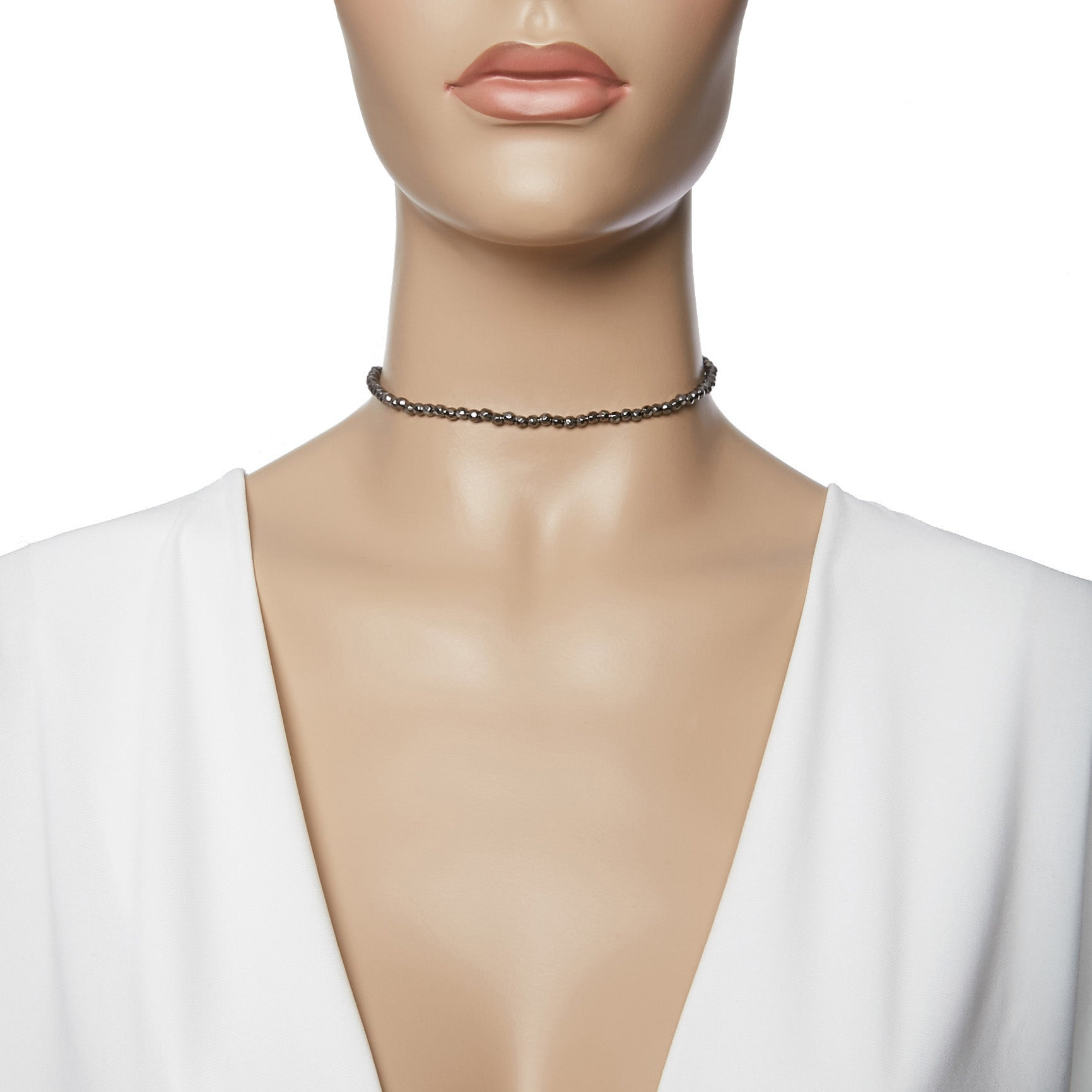 Beaded Metal Choker