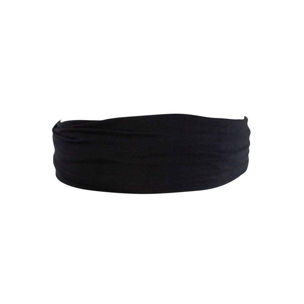 Black Basic Stretch Headband