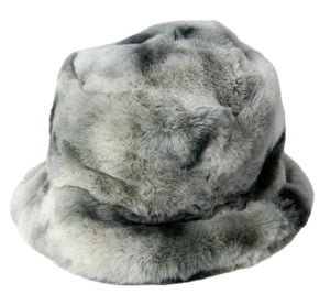 Tie Dye Fur Bucket Hat