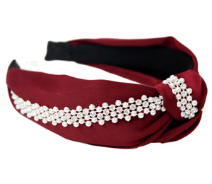 Red Pearl Headband